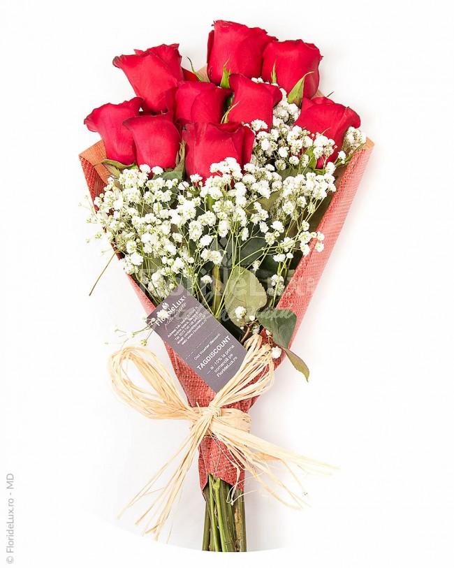 cele mai frumoase buchete sfantul valentin - locul 10