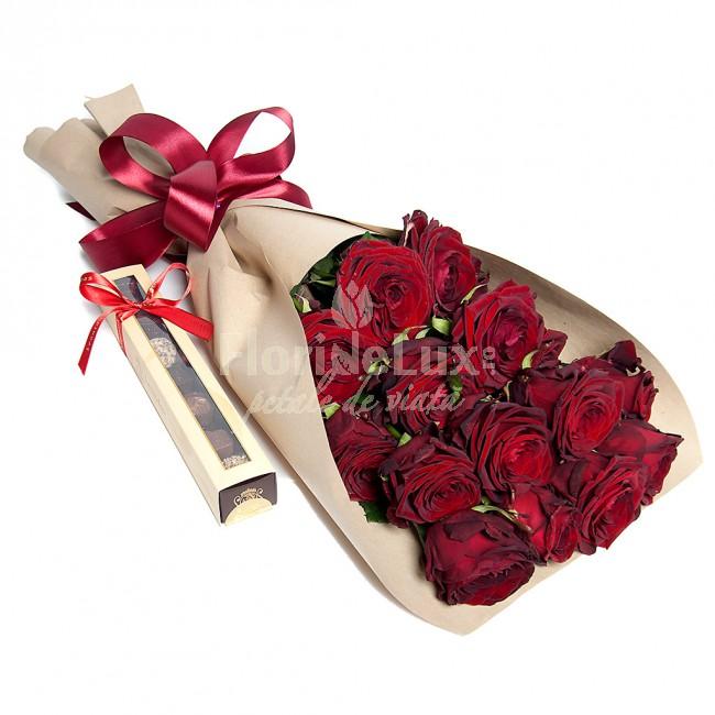 cele mai frumoase buchete sfantul valentin - locul 3