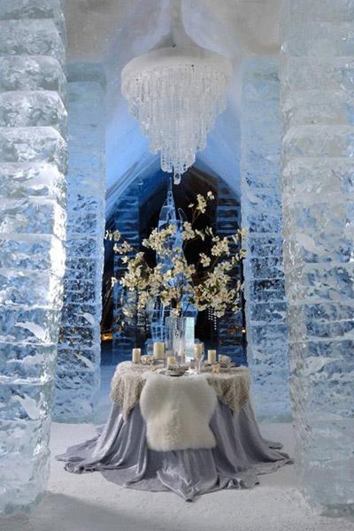 locul 1 - cele mai frumoase nunti de iarna