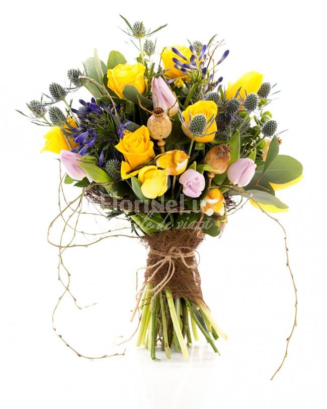 Buchete de flori de 1 martie - locul 3