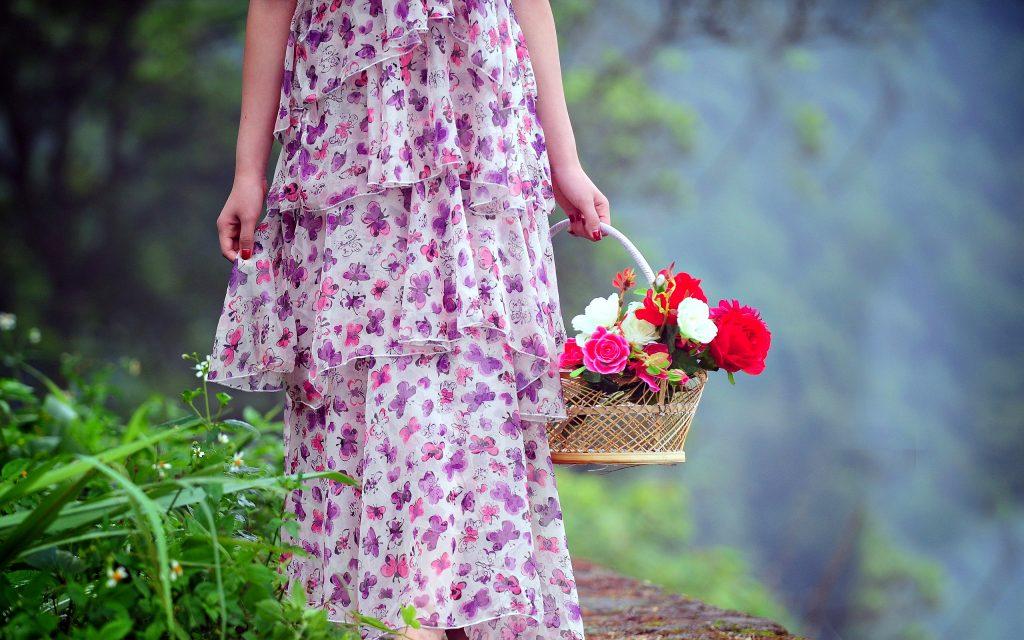 cele mai frumoase cosuri flori