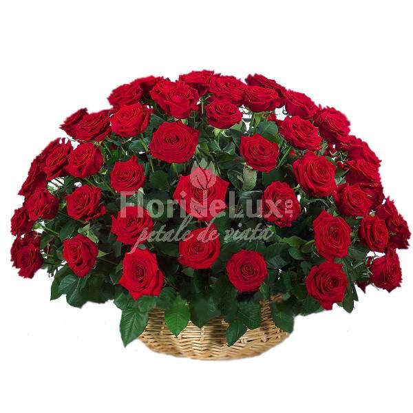 cele mai frumoase cosuri flori - locul 2