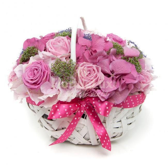 cele mai frumoase cosuri flori - locul 4
