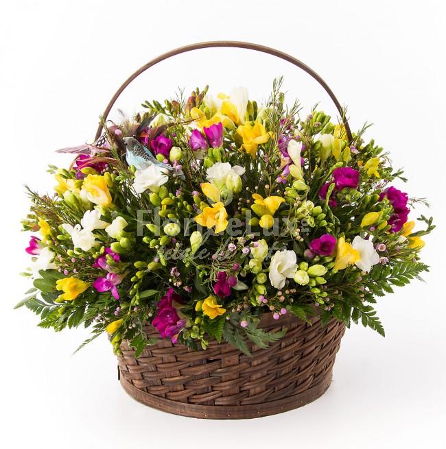 cele mai frumoase cosuri flori - locul 8