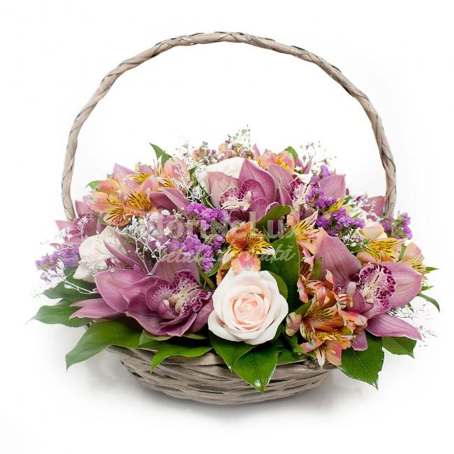 cele mai frumoase cosuri flori - locul 9