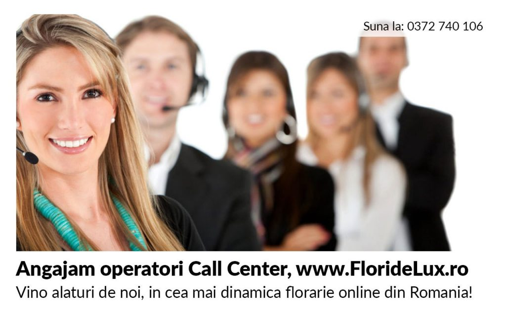 florarie online, operatori call center