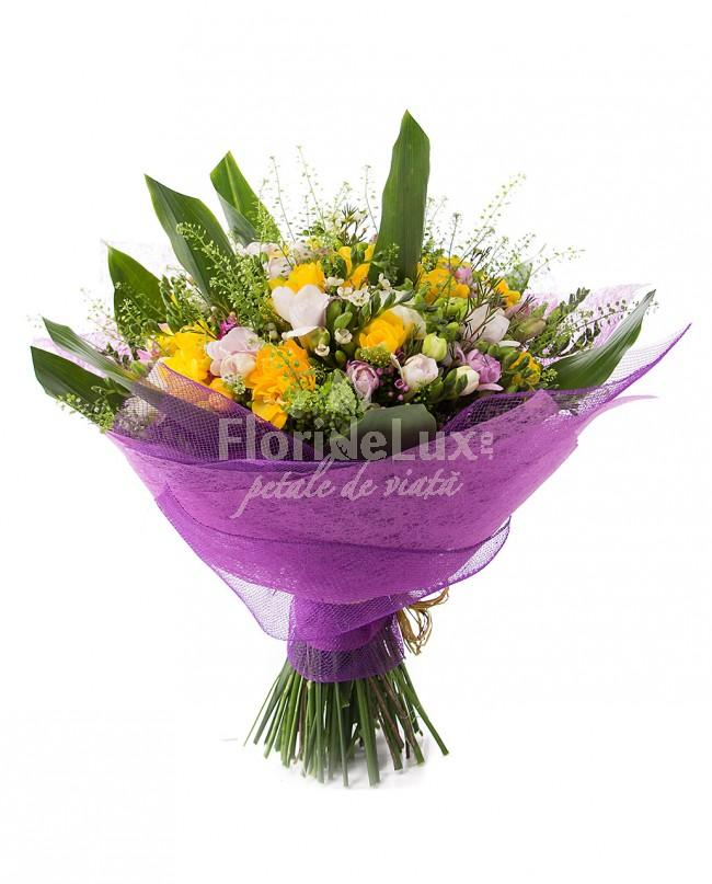 buchete de flori, frezii
