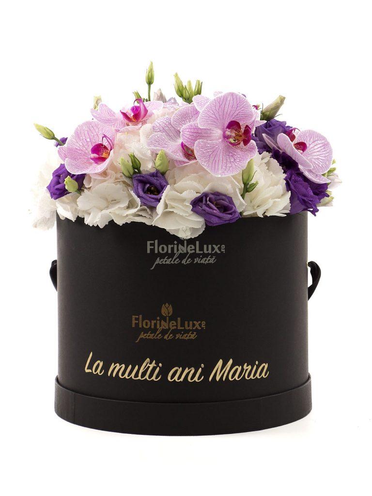 Flori Sfanta Maria - 8 septembrie, cutie flori