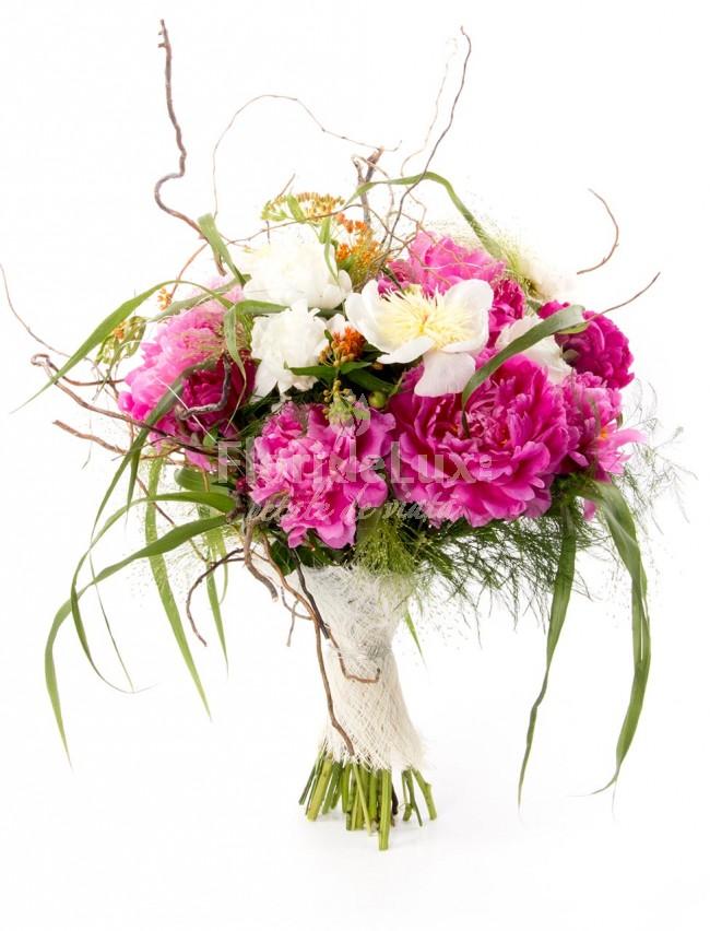 buchet-bujori, flori online