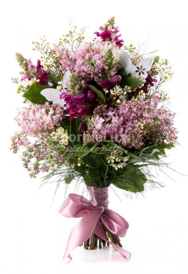 flori online buchete de liliac