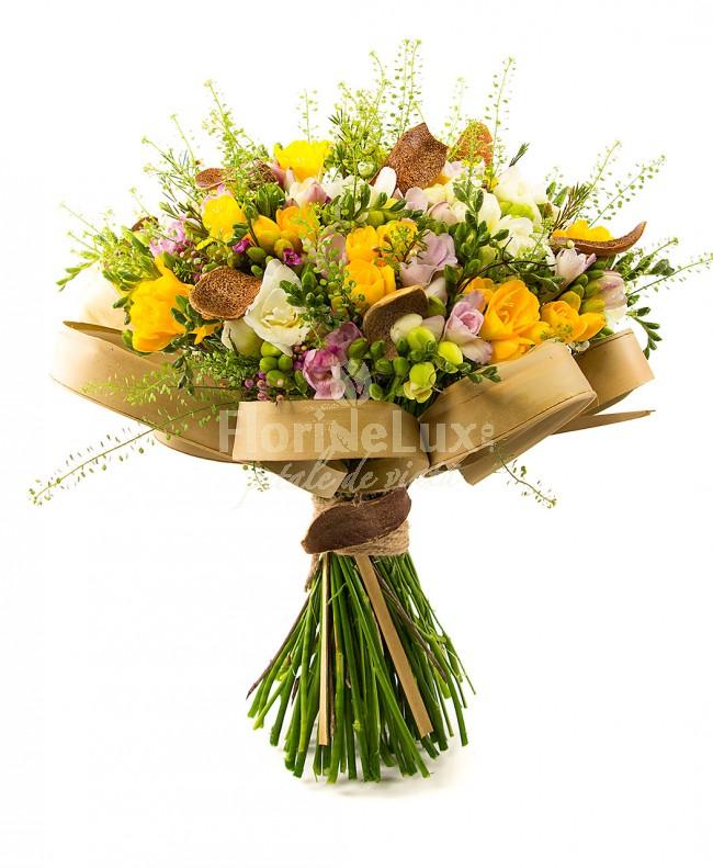 flori online, frezii