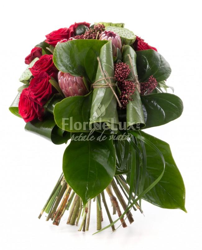 buchete-trandafiri-designer