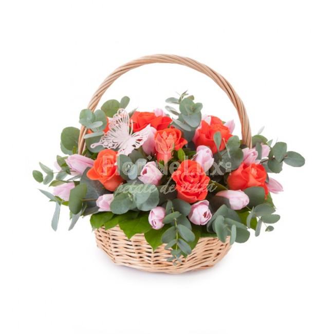 cos-cu-lalele-roz