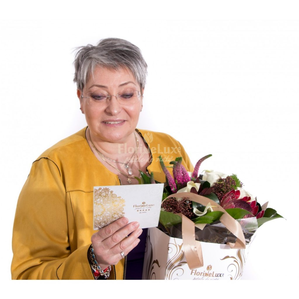 buchet pentru a spune Multumesc! mamei sau bunicii