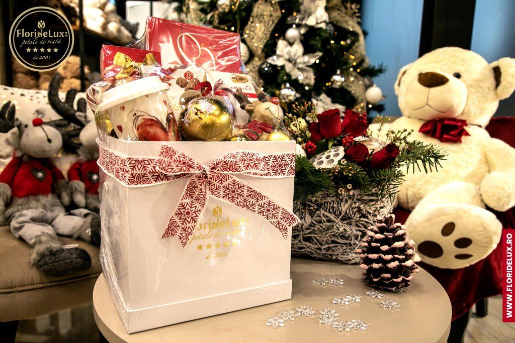 Coșuri cadou de Crăciun