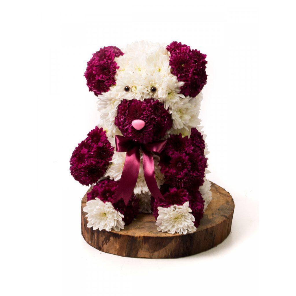 Cadouri ideale pentru Femeia Capricorn - Ursuleț din flori