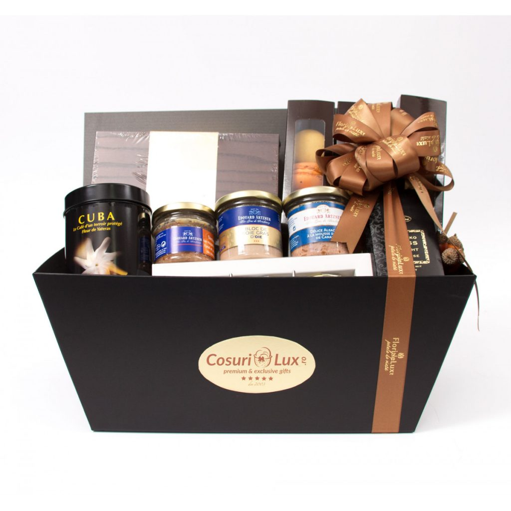 Coșuri cadou de Crăciun, Coș cadou Amazing Tastes, doar 1428,99 RON!
