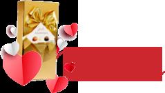 Comandă de minim 300 RON și primești cadou o cutie de bomboane delicioase!
