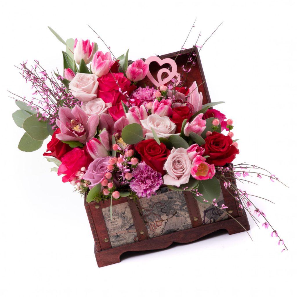 Flori in vacanta, doar 419 RON!