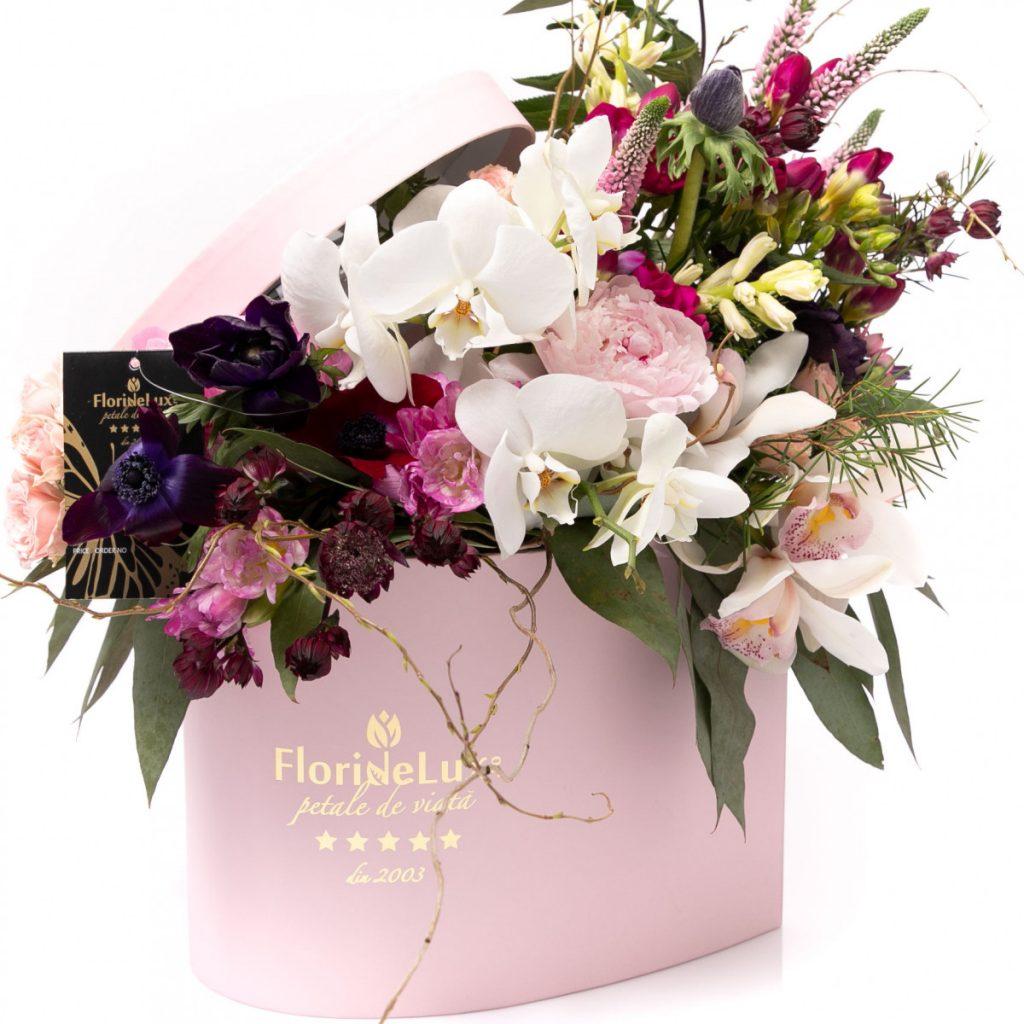 Florarie Braila, Inima salbatica plina de flori parfumate, doar 559 RON