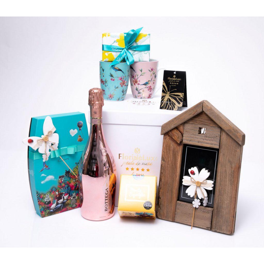 Coșuri cadou de Paște, Cutie dulce de Paște, doar 479 RON!