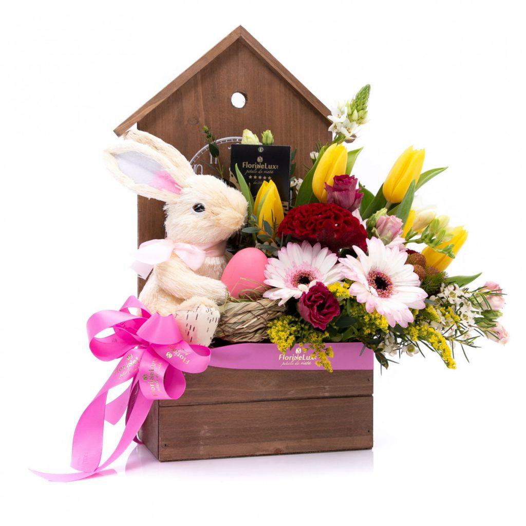 Cadou de Paște, căsuța iepurașului, doar 206,10 RON