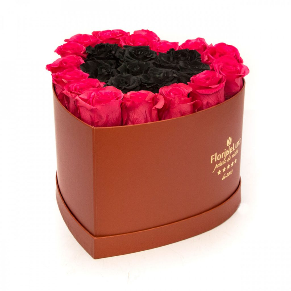 Trandafiri criogenați în inimă, doar 1.506,99 RON!