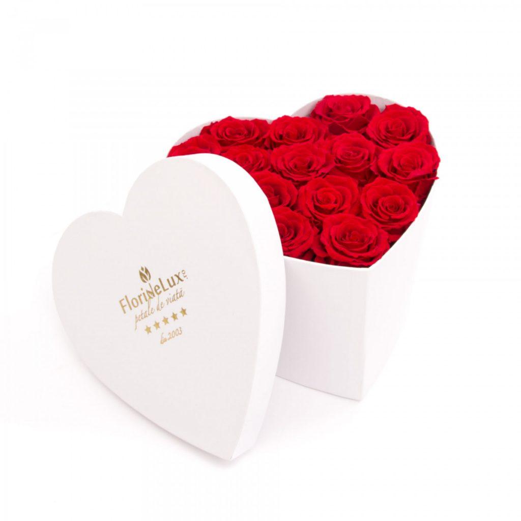 Trandafiri criogenați Always and Forever, doar 615,99 RON!