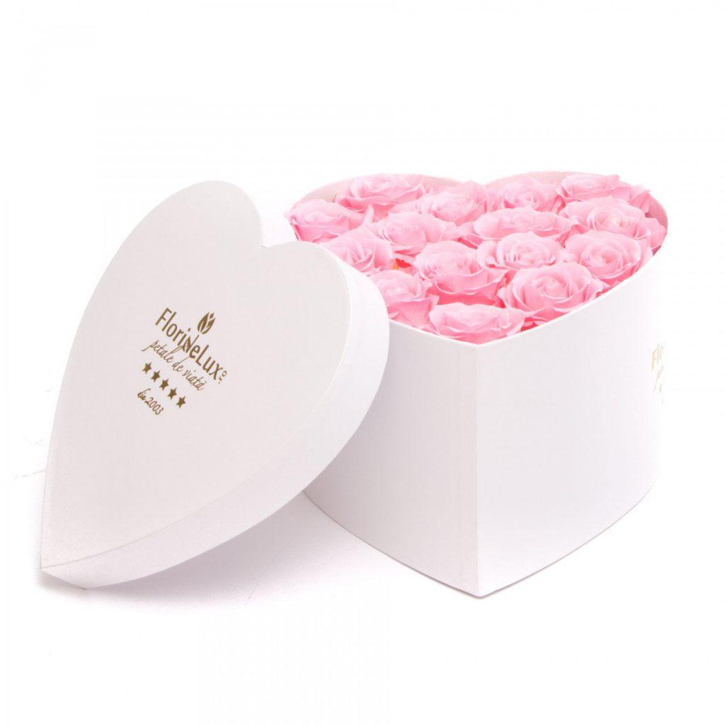 Florarie Buzau, Trandafiri criogenati Luxury Pearls, doar 599,99 RON
